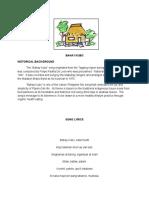 Bahay Kubo Document