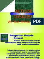 METODE DISKUSI