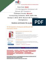 [100% PASS]Braindump2go 70-515 eBook Free Download 21-30