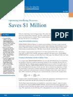 Optimizing Purchasing Processes Saves 1 Million