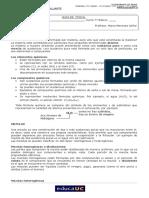 Guía 7° Transfomaciones y Cambios de estado