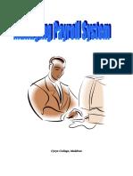Managing Payroll Systems