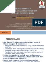 HIV Dan AIDS Tpt Kerja Kebijakan & Program Rev2013
