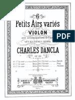 dancla Variations _op89