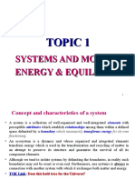 Topic 1 Systems and Models (2002) - Up to Flows and Storages