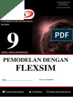 Modul 9 -Pemodelan Dengan Flexsim