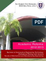 Proforma Piloting BDC