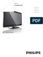 Manual TV Philips 26PFL3405/12