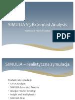 CATIA V5 Analysis - Prezentacja