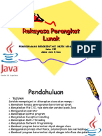 Rekayasa Perangkat Lunak OOP Java