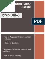 Open Session Prelims Modern Histor