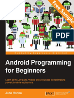 Android Programming for Beginners - Sample Chapter