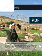 Bedouin Rights Under Occupation FINAL English