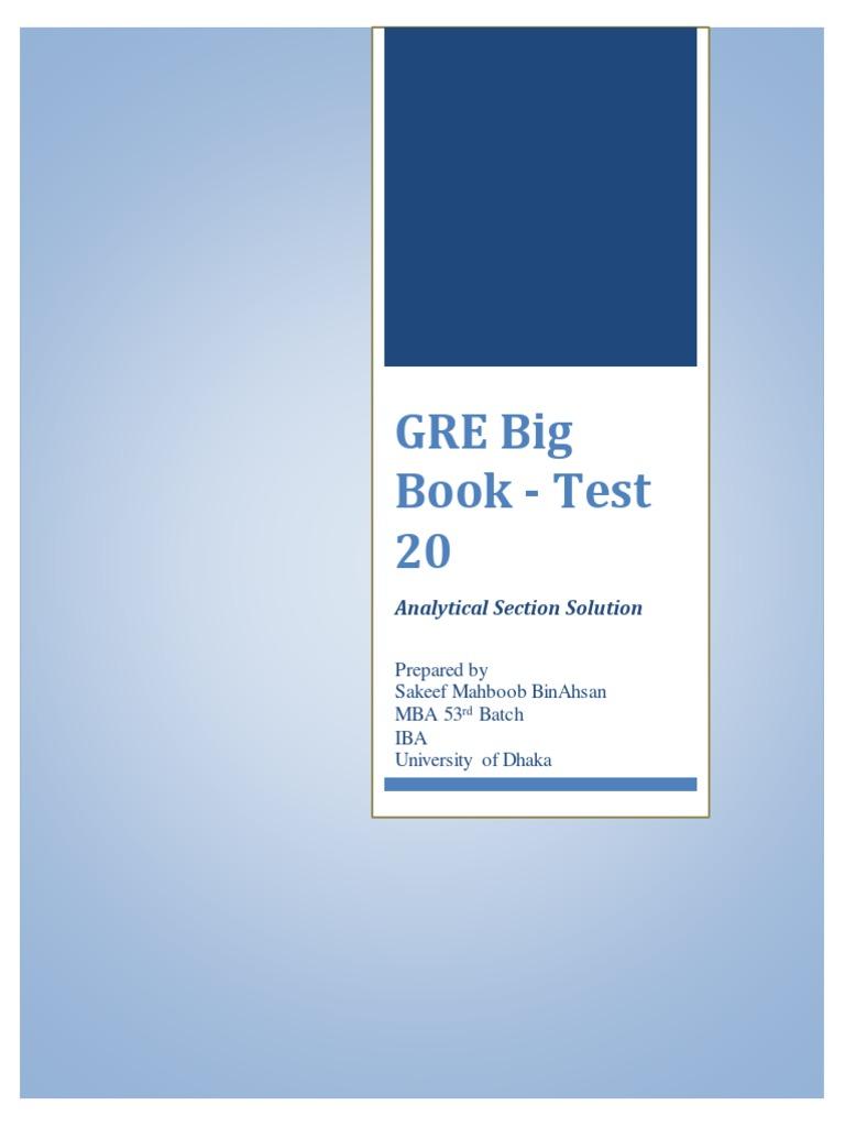 Book new gre big
