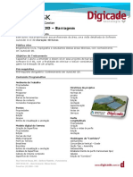 Ementa Autodesk AutoCad Civil 3D – Barragem