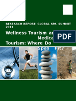 Wellness tourism and Medical tourism