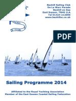 BSC Programme 2014