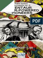 Public Domain Encyclopedia Vol. III Centaur Super-Powered Pioneers demo