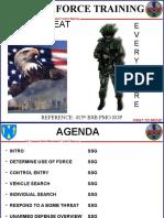 Guard Duty Training
