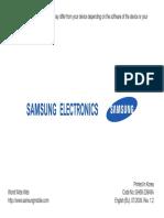 Samsung GT-I7500 User Guide