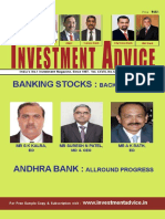 Investment advisor for Indian Stocks.December 2015 edition.