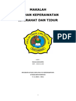 cover askep istirahat tidur