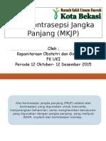 Alat Kontrasepsi Jangka Panjang (MKJP)