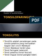 CRS Tonsilofaringitis