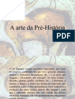 A arte da Pré-História