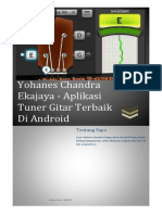 Yohanes Chandra Ekajaya - Aplikasi Tuner Gitar Terbaik Di Android