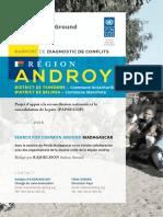 Rapport Diagnostic de Conflit - Androy
