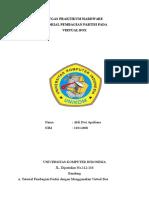 Tugas Praktikum Hardware - Membagi partisi dengan menggunakan aplikasi virtual box - Aldi Dwi Apriliana - Universitas Komputer Indonesia