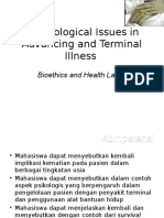 Psychological Issue in Advancing and Terminal Illness2012