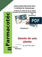 Diseño de Una Planta Farmaceutica