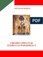 Crearea Omului Si Starea Lui Paradisiaca