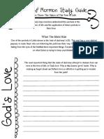Book of Mormon Study Guide #3 PDF