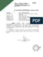 Acórdão STF - Repercussão geral Antecedentes e duração