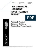 Example of Chemical Incident Investigation Report
