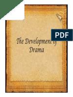 The Development of Drama