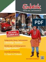 Urlaubsplaner Einbeck 2016