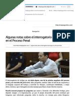 Algunas Notas Sobre El Interrogatorio de Testigos en El Proceso Penal _ Roleplayjuridico