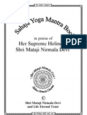 Mantra Book | Syllable | Linguistics