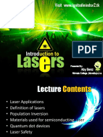 Introduction to Lasers