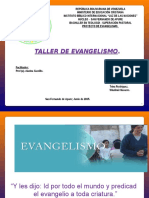 Presentaciones Taller Evangelismo.