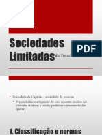 Empresarial - Aula 11 - Sociedades Limitadas