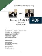 Gino Jennings Debating Reginald Young - Part 1