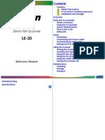 Nikon LS-30 Reference Manual