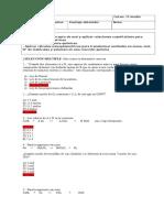 Evaluacion Diagnostica Estequiometria 2º Medio Con Solucionario