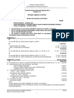 Subiect Bac Vegetala-Animala2014 Barem
