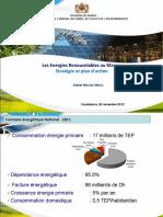 Les énergies Renouvlables au Maroc - Stratégie et plan d'action